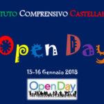 Open Day - 15/16 gennaio 2018
